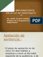 Impugnatorios Ley 29497 Nlpt