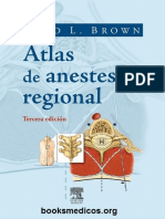 Atlas de Anestesia Regional - David L. Brown 3 Ed (1)