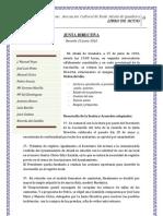 Acta Junta Directiva 25-junio-2010