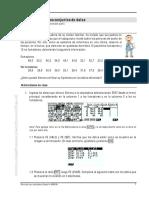 Comparación de dos conjuntos de datos - Medidas centrales, posicionales y de variación