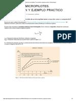 Cálculo de Micropilotes Ejemplo