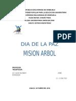 Mision Arbol - Paz