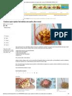 Croutons Super Rápidos (Torradinhas Com Azeite, Alho e Ervas)