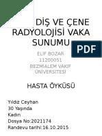Vaka Sunumu-eli̇f Bozar