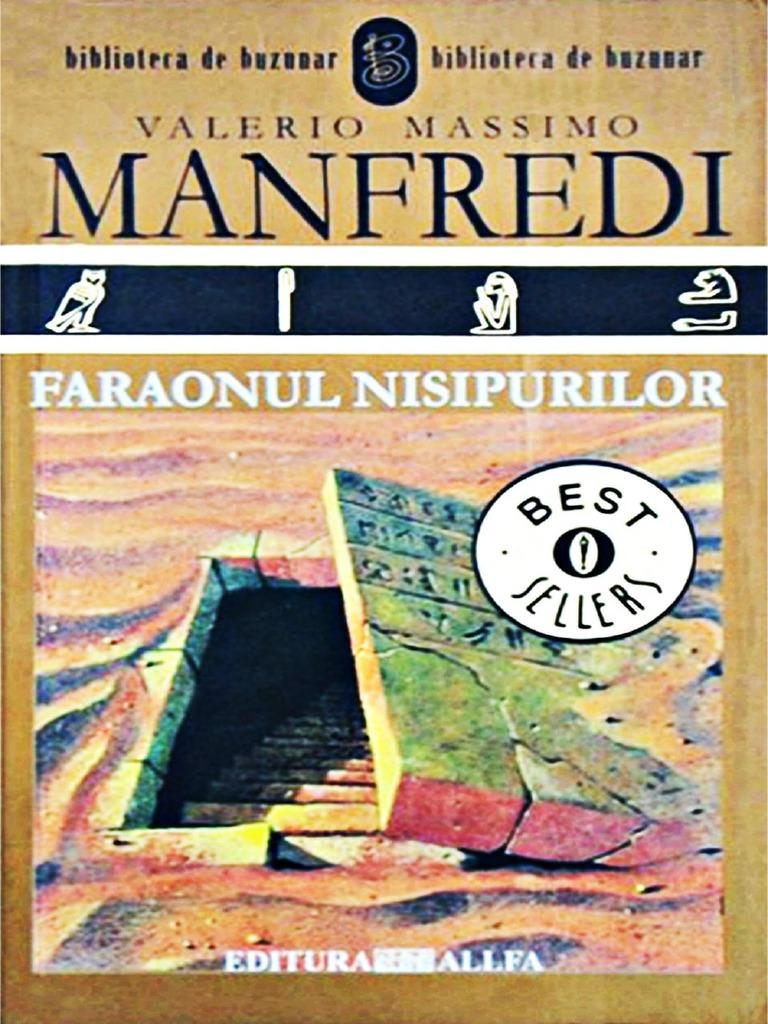 50% preț magazin calitate superioară Valerio Massimo Manfredi - Faraonul Nisipurilor