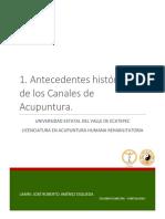 01. Antecedentes Históricos de Los Canales de Acupuntura