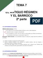 Tema 7- El Antiguo Regimen y El Barroco 2a Parte