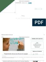 Tratamiento de La Escritura en Espejo _ Logopediaescolar