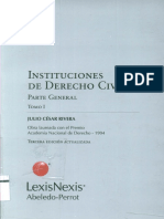 Instituciones de Derecho Civil - Parte General - Tomo I - Julio Cesar Rivera
