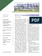GPP_IRSA Newsletter 4th Quarter 2016