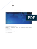 DWG2000C-8G User Manual v1.0