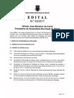 Ordem de Trabalhos e documentação - 1ª Sessão Ordinária 2017 (09/02/2017) - Assembleia Municipal do Seixal