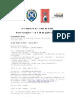 Programación definitiva ABEC 2010