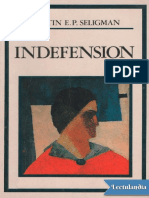 Indefension - Martin E P Seligman