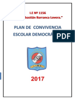 PLan de Convivencia Escolar Democratica Ccesa007