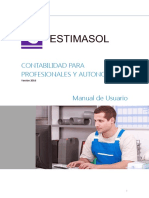 Manual EstimaSOL 2016