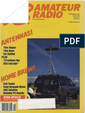 73 Amateur Radio September 1990 Issue 360 | Inductor