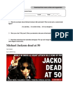 Michael Jackson's death - Advanced