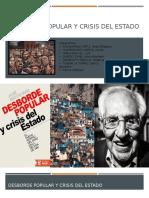 Desborde Popular y Crisis Del Estado (1)