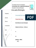 Bioestadistica Informe N01 PLanta CITRUS PARADISIS
