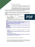 Links y Pautas Para Elaboración de Proyectos de Capacitación