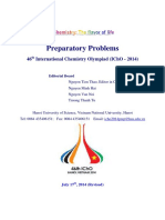 IChO 2014 Preparatory Problems