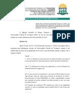 33-2015 - Altera a Resolução 13-2015 -Afastamento de Docente Da UFT