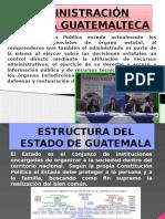ADMINISTRACIÓN PÚBLICA GUATEMALTECA