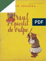 Ion Creanga - Ursul pacalit de vulpe (1955, ilustratii de D. Ghinokastra).pdf
