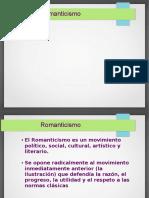 Clase Béguin, Romanticismo