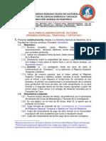 Guia Elaboracion Tesis Maestrias Derecho UMG-2011