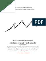 Statistics Initial Release June 13