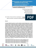 Estudo Da Relacao de Euler Por Meio de Solidos Contruidos Com Tecnicas de Origami Modular