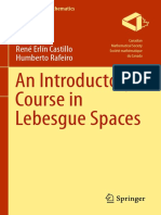 (CMS Books in Mathematics) Rene Erlin Castillo, Humberto Rafeiro-An Introductory Course in Lebesgue Spaces-Springer (2016)