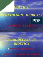 c. 1 Introducere in Bioetica
