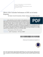 Effects of the Controller Performance-Of-DFIG