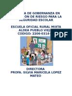 SISTEMA DE GOBERNANZA EN LA GESTIÓN DE RIESGO.docx EORM ALDEA PUEBLO VIEJO.docx