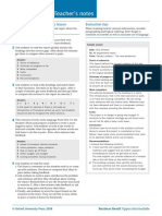 Writing Short Reports Teacher's Notes + Answers PDF