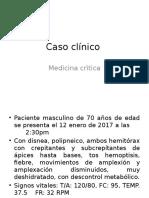 Caso Clínico y tema de neumonia