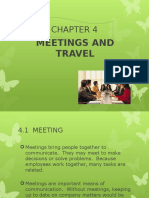 Meeting and Travel Extra