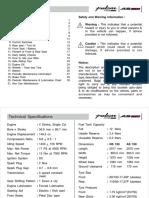 Rouser NS 150 User Manual