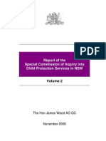 Report of the Special Commission of Inquiry into Child Protection Services in NSW, Wood Report v II