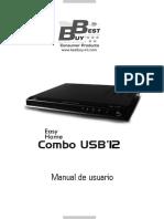 Manual EhomeComboUSB12