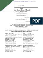 WA and MN v Trump 17-35105 Hawaii Motion to Intervene