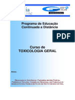 Toxicologia Geral
