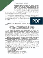 PLJ Volume 29 Number 4 -06- Recent Decisions - Election Law