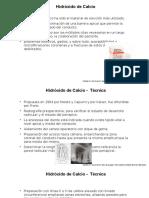 Procedimiento y Materiales Hidroxido de Calcio
