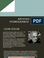 Artistas Posmodernos