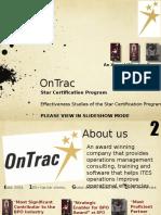 Effectiveness Studies Star Certification Program