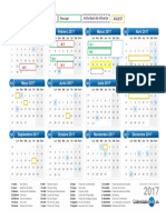 Cronograma de Actividades 2017